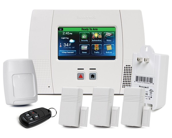 Diy security mall do it your self alarms and security cameras honeywell lynx touch 5200 all in one wireless alarm system solutioingenieria Images